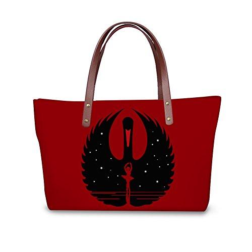 School Bags Purse Foldable FancyPrint Wallets Women Large C8wcc2406al Bags Yg4BwqU