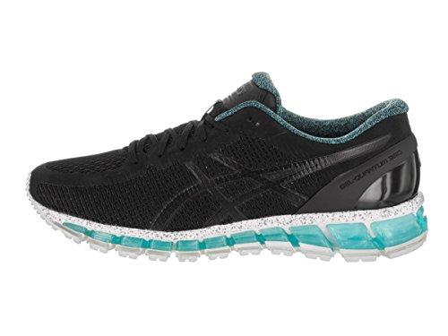 Chaussures De Running Gel-quantique 360 cm Asics Mens Noir / Noir