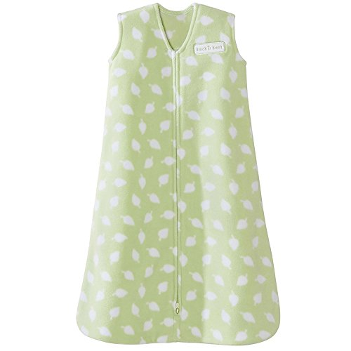 Halo SleepSack Wearable Baby Blanket, Micro-Fleece (Small, Sage Leaves Print) by Halo