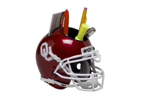 Schutt Sports Oklahoma Sooners Football Helmet Desk Caddy