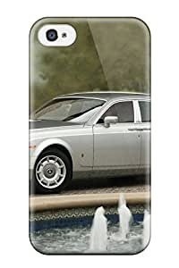 Iphone 4/4s HsIPXlk2373iXqpg Rolls Royce Tpu Silicone Gel Case Cover. Fits Iphone 4/4s