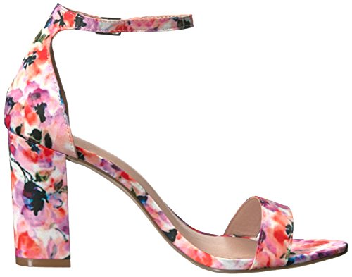 Madden Girl Women's Beella Dress Sandal, Blush Floral Multi