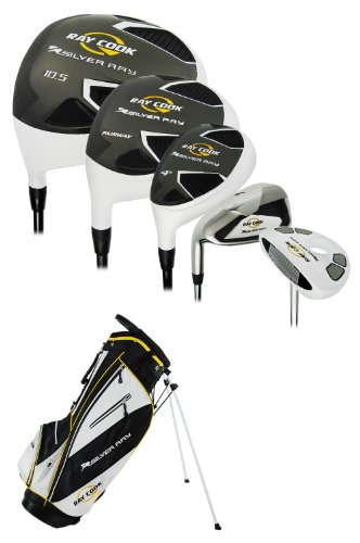 Ray Cook Golf Silver Ray Men's Golf Complete Set, Left Hand, Steel, Regular