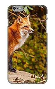 Guidepostee Sanp On Case Cover Protector For Iphone 6 Plus (Animal Fox Forest Autumn) For Christmas Day's Gift