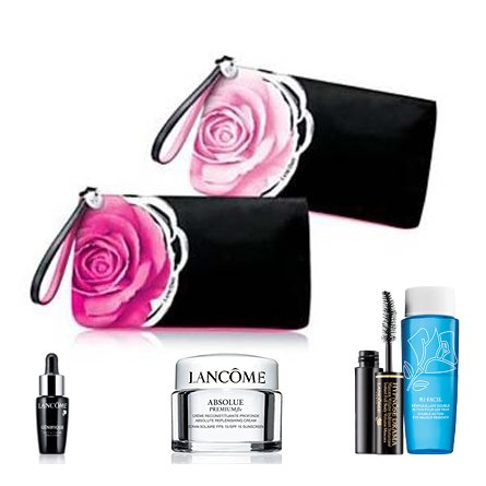 Lancome Absolue Premium Bx Cosmetics and Makeup Bag Gift Set