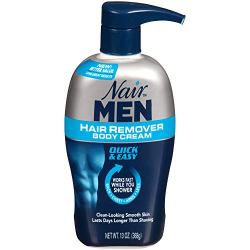 Nair Hair Remover for Men Hair Remover Body Cream, 13 oz