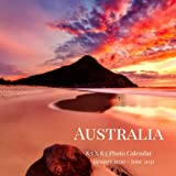 Australia 8.5 X 8.5 Photo Calendar January 2020 - June 2021: 18 Monthly Mini Picture Book| Cute 2020-2021 Year Blank At A Glance Monthly Colorful Desk ... (Awesome Country Photograph Desk Calendars)