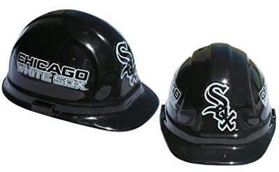 Chicago White Sox - MLB Team Logo Hard Hat Helmet