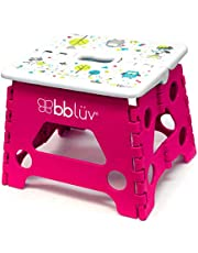 bbüv - Stëp - Folding Step Stool - Safe, Compact and Easy to Clean