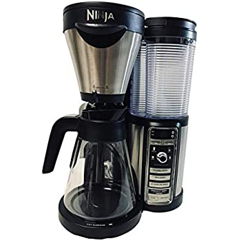 Ninja Coffee Bar Auto-iQ One-Touch Intelligence Brewer Maker Machine with 43 oz Glass Carafe CF080Q Thermal Flavor Extraction for Warm, Hot and Cold ...