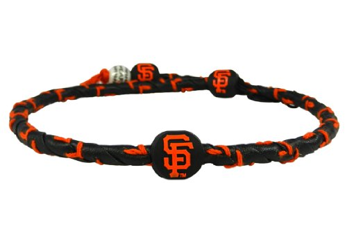 MLB San Francisco Giants Team Color Frozen Rope Baseball - Mlb Rope Frozen Necklace