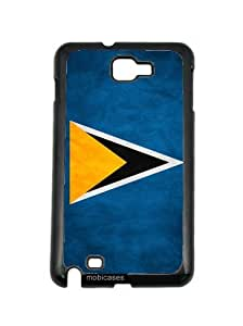 Flag of Saint Vincent And The Grenadines - Protective Designer BLACK Case - Fits HTC One X / One X+