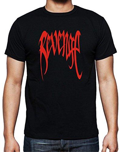 - XXXTentacion Red Revenge Black T-Shirt