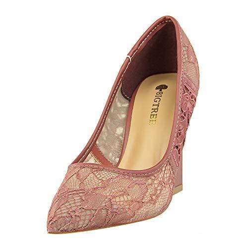 Femme Violet Apl10745 Balamasa Sandales Compensées 36 5 Violet qRtwTOw