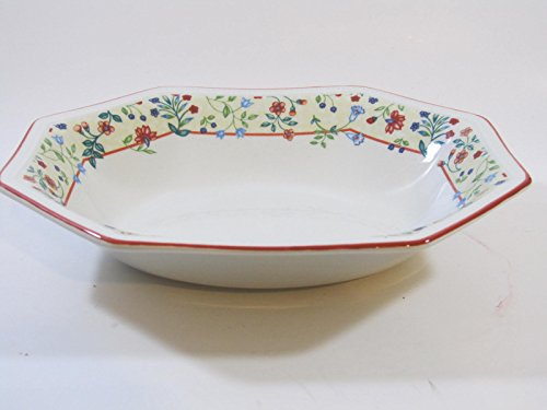 - Johnson Brothers Enchantment Red Trim 9