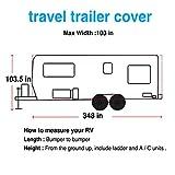 Travel Trailer RV Cover