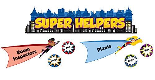 Carson Dellosa Super Power Super Helpers Bulletin Board Set -