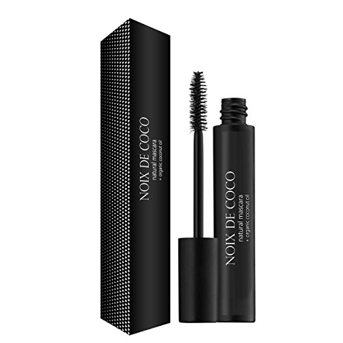 Noix de Coco Organic Coconut Oil Mascara - Nourishing, Conditioning, Hypoallergenic Mascara with Vitamin E by NDC Beauty - Perfect for Sensitive Eyes - Black  ()