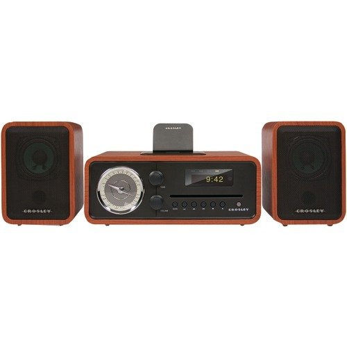 Crosley Ipod Dock (CROSLEY CR3012A-PA Shelf System, Brown (Discontinued by Manufacturer))