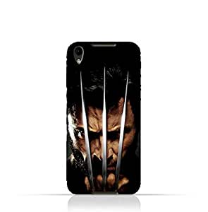 BlackBerry DTEK50 TPU Protective Silicone Case with Wolverine Design