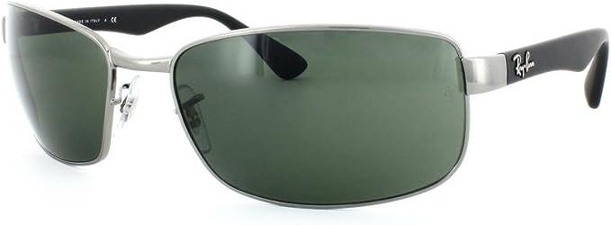 Gafas de Sol Ray-Ban RB3478 GUNMETAL: Amazon.es: Ropa y accesorios