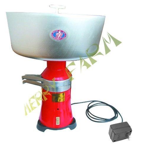 Cream Metal - Milk Cream Electric Centrifugal Separator 80 L/H (Metal Drum and Receivers) 110 V USA/CANADA