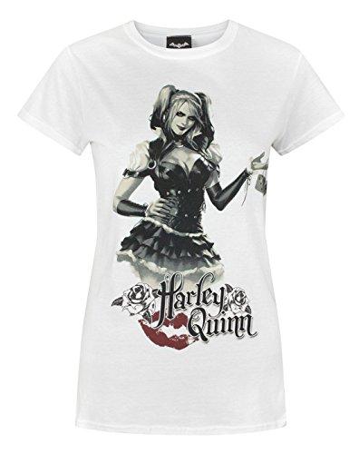 Price comparison product image Batman Arkham Knight Harley Quinn Women's T-Shirt (XXL)