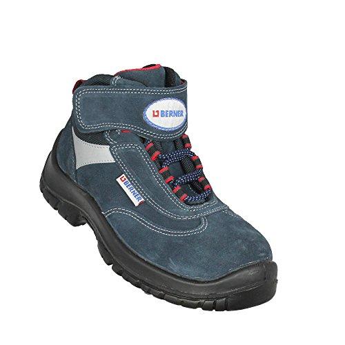 Berner nuvola 2 chaussures de travail s1 sRC chaussures chaussures berufsschuhe businessschuhe (bleu) - Bleu - Bleu, Taille 38