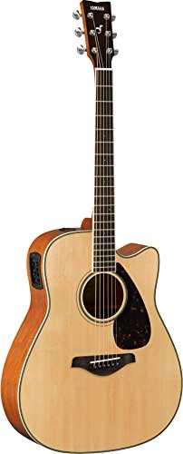 Yamaha FGX820C Solid Top Cutaway Acoustic-Electric, used for sale  Delivered anywhere in USA