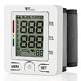 Wrist Blood Pressure Monitor - Amzdeal Blood Pressure Cuff BP Machine with Heartbeat