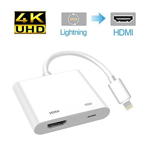 4K UHD support Lightning - Digital AV adapter Lightning to i