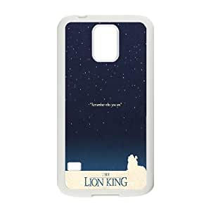 The Lion King Hakuna Matata Hard Snap Phone Case Cover for samsung galaxy S5 I9600 case LST241659