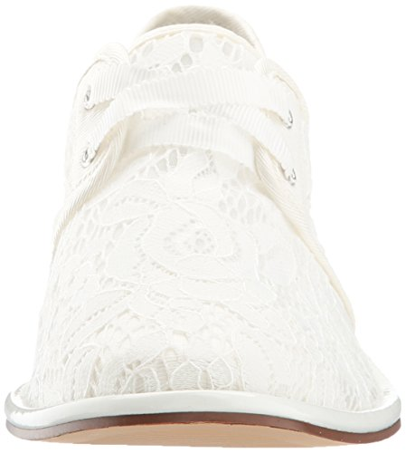 Women Oxford Adrianna White Canvas Paisley Papell 4I4w0E