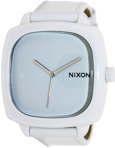 (Nixon Ceramic Shutter Watch - Women's White, One Size)