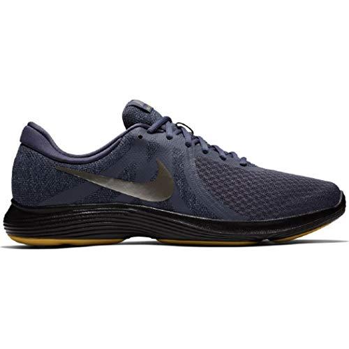 Nike Pewter gridiron black Eu light Uomo Revolution Scarpe Running mtlc 4 Multicolore Carbon rqHFrp