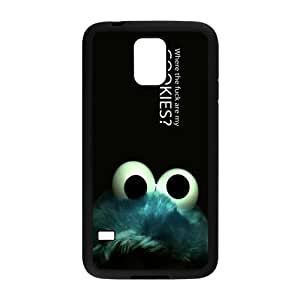 The Cookie Monster Samsung Galaxy S5 Back TPU and Plastic Case Cover