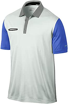 Nike Los Hombres Dri-fit Polo de innovación Color Ligero: Amazon ...