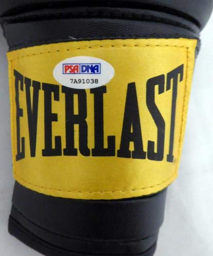 Boxing Greats Autographed Boxing Glove 3 Sigs Leonard Hearns Duran 7A91038 PSA/DNA Certified Autographed Boxing Gloves