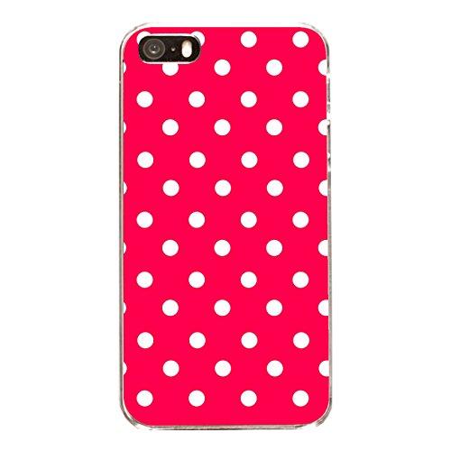 "Disagu Design Case Coque pour Apple iPhone 5s Housse etui coque pochette ""Rot Weiß gepunktet"""
