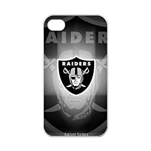 iPhone 5c Case Cool NFL Oakland Raiders Shadow Design iPhone 5c 100% TPU (Laser Technology)