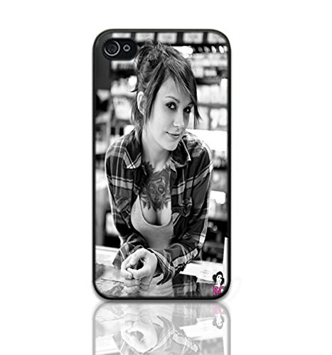 Tattoo Babe Image Unique Diy New Hard Snap On Cover Protector Case For iPhone 4 4S ()