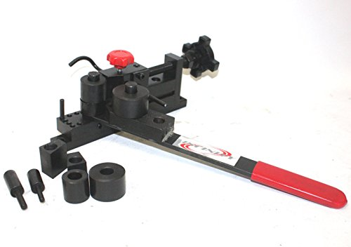Manual Mounting Bender Mini Universal Forms Wire Flat Metal Tubing Bending