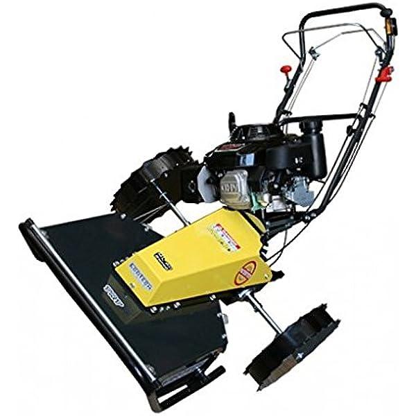 Ecotech TRT 60 SW-H - Desbrozadora sobre rueda con sistema Swing: Amazon.es: Jardín