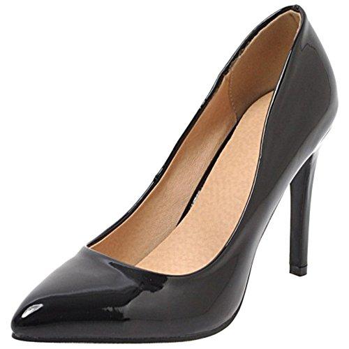 VulusValas Pointu Black Femmes Chaussures Escarpins 65I6wrq
