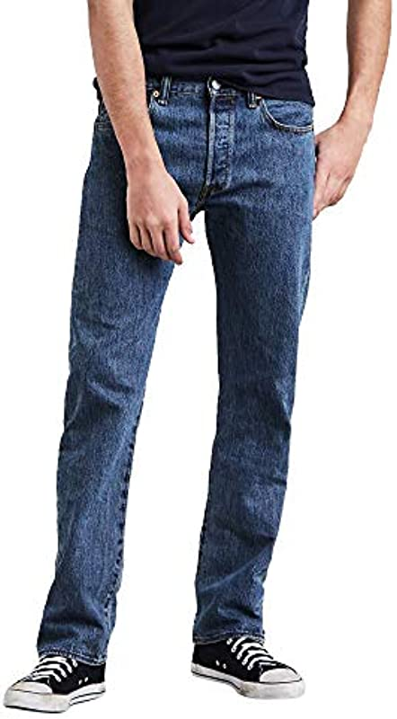 Levi's Męskie 501 Original Fit Jeans: Levis: Odzież