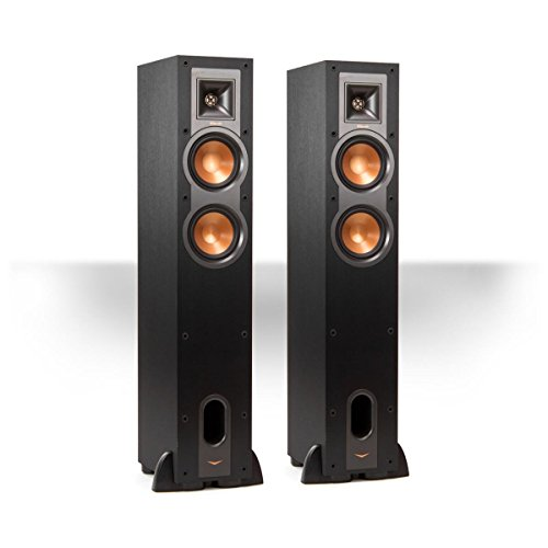Klipsch R-24F Reference Floorstanding Speakers - Pair (Black) by Klipsch