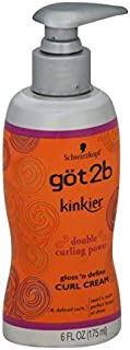 product image for Got2b Kinkier Curl Cream, 6.0 Ounce