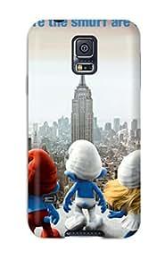 CaseyKBrown Galaxy S5 Hybrid Tpu Case Cover Silicon Bumper 2011 The Smurfs Movie