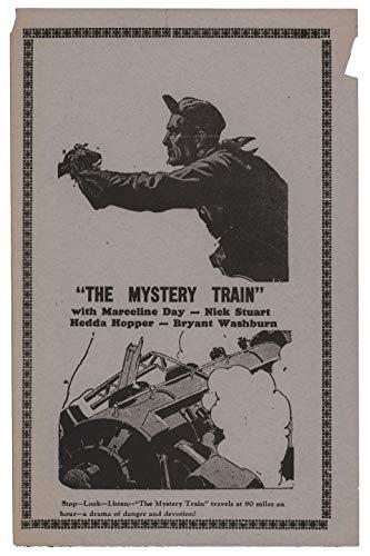 The Mystery Train 1933 U.S. Herald