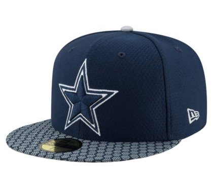 56c9f205 Image Unavailable. Image not available for. Color: New Era Dallas Cowboys  Sideline 59Fifty Cap